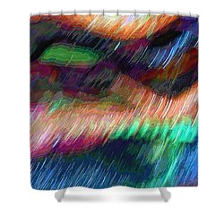 Celeritas 13 Shower Curtain