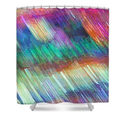 Celeritas 14 Shower Curtain