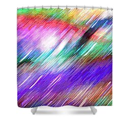 Celeritas 16 Shower Curtain