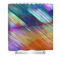 Celeritas 18 Shower Curtain