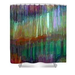 Celeritas 23 Shower Curtain