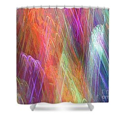 Celeritas 30 Shower Curtain