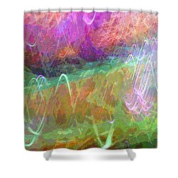 Celeritas 34 Shower Curtain