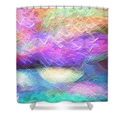 Celeritas 37 Shower Curtain