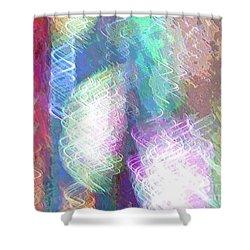 Celeritas 39 Shower Curtain