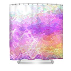 Celeritas 45 Shower Curtain