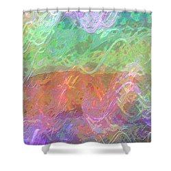 Celeritas 48 Shower Curtain