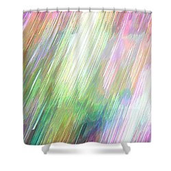 Celeritas 5 Shower Curtain