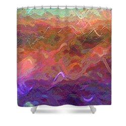 Celeritas 54 Shower Curtain