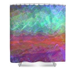 Celeritas 55 Shower Curtain