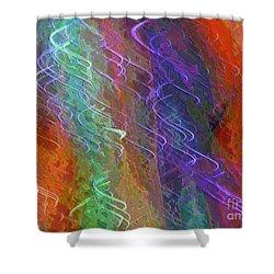 Celeritas 56 Shower Curtain