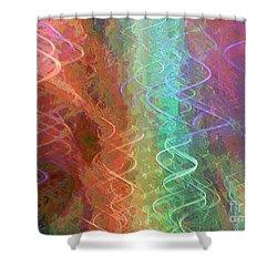 Celeritas 57 Shower Curtain