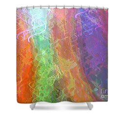 Celeritas 58 Shower Curtain