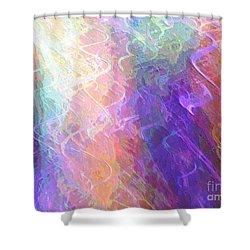 Celeritas 59 Shower Curtain