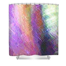 Celeritas 61 Shower Curtain