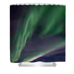 Celestial  Shower Curtain by Priska Wettstein