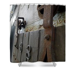 Cell 6x8 Shower Curtain by Richard Reeve