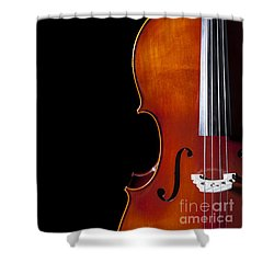Cello Shower Curtain by Diane Diederich