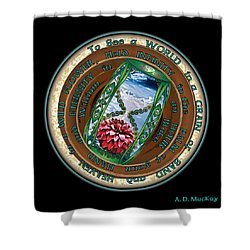 Celtic Eternity Shower Curtain