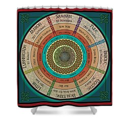 Celtic Festivals Shower Curtain