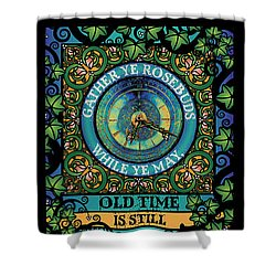 Celtic Impermanence Shower Curtain