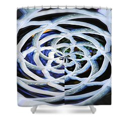 Celtic Knot Shower Curtain by Donna Blackhall