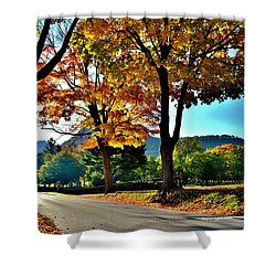 Cemetery Road Shower Curtain