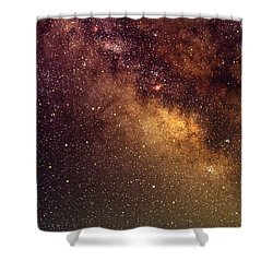 Center Of The Milky Way Shower Curtain