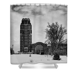 Central Terminal 4431 Shower Curtain