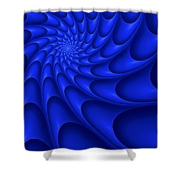 Centric-95 Shower Curtain by RochVanh