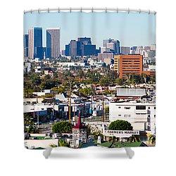 Century City, Beverly Hills, Wilshire Shower Curtain