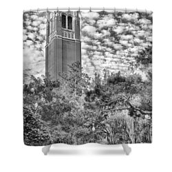 Century Tower Shower Curtain by Howard Salmon