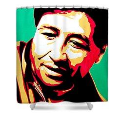 Cesar Chavez Shower Curtain