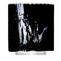 Cessna Reflection Shower Curtain by Paul Job