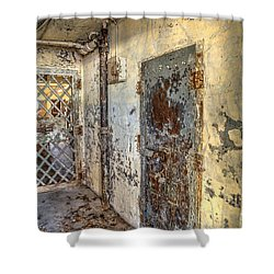 Chain Gang-2 Shower Curtain by Charles Hite