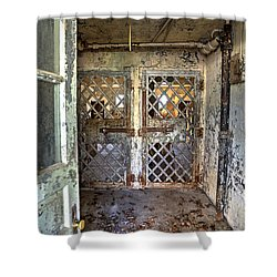 Chain Gang-3 Shower Curtain by Charles Hite