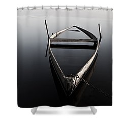 Chained In Time Shower Curtain