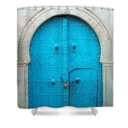 Chained Mini Door Shower Curtain