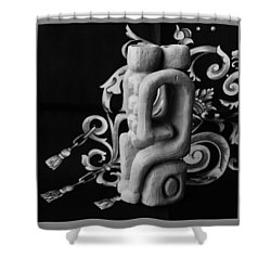 Chained Together Shower Curtain by Barbara St Jean