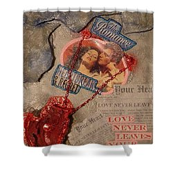 Chains Of Love Shower Curtain