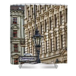 Chamissoplatz Shower Curtain by Nathan Wright