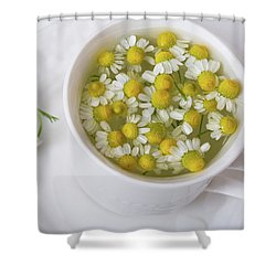Chamomile Tea Shower Curtain