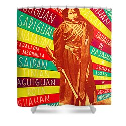 Chamorro Revolutionary Shower Curtain