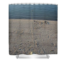 Shower Curtain featuring the photograph Champagne Chillin by Robert Nickologianis