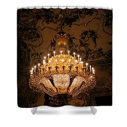 Chandelier Palacio Real Shower Curtain