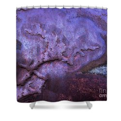 Change Of Heart Abstract Shower Curtain