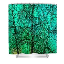 Change Of Seasons Shower Curtain by Bob Orsillo