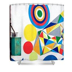 Chaordicolors Shower Curtain