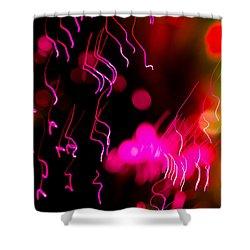 Chaos 02 Shower Curtain by Edgar Laureano