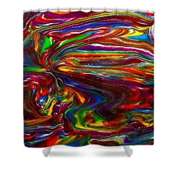 Chaotic Flow Shower Curtain